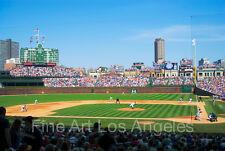 "Neil Reichline Photo ""Wrigley Field, Chicago"" 13x19"" Cubs Baseball"