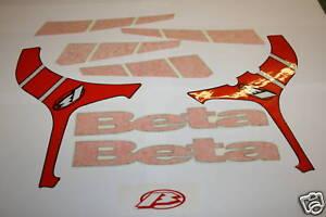BETA REV3 2008TANK/FRAME STICKERS DECALS GRAPHIC SET