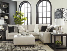 Modern Living Room Furniture - 3pc Gray Microfiber Fabric Sofa Sectional Set G0W