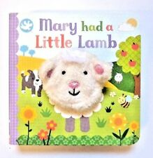 New, Little Learners Mary Had A Little New Puppet Books For Children Age 2+ year