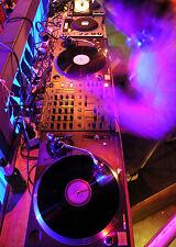 SUPERB CLUB DJ DECKS TURNTABLE MUSIC CANVAS #68 QUALITY CANVAS PICTURE WALL ART
