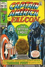 CAPTAIN AMERICA & THE FALCON  #139-1971-LEE & ROMITA-THE BADGE AND THE BETRAYAL