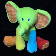 "First Impressions Elephant Plush Stuffed Animal 11"" Toy Sewn Eyes Soft Toy"
