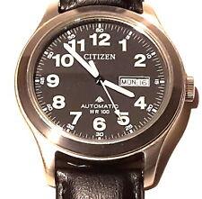 Citizen Automatic Day Date Edelstahl 40mm Herrenuhr