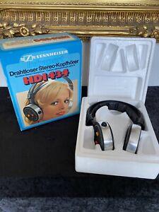 Vintage Rarität Sennheiser hdi 434 Infrarot Stereo Headphone Wireless Kopfhörer