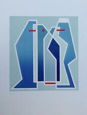 Mario Radice, Senza titolo. Litografia originale a colori