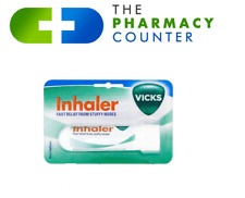 Vicks Inhaler Standard Nasal Stick Fast Relief From Snuffy Noses