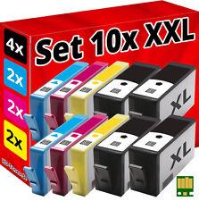 10x Inchiostro Cartucce per hp 934XL+935XL Officejet pro 6230 6820 6830C All D