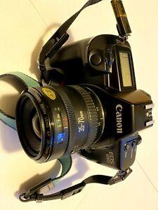 Canon EOS 650 SLR autofocus 35mm film camera with EF 35-70mm lens
