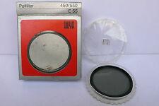 Hama Hoya Linear Polarizer 55mm Screw type fr 35mm Analog SLR Cameras Keeper