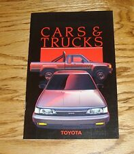Original 1987 Toyota Car & Truck Full Line Sales Brochure 87 Supra MR2 4Runner