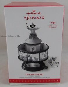 Disney D23 2015 Expo Hallmark The Band Concert LE 825 Signed KEN CROW Ornament