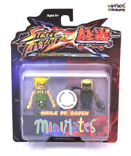 Street Fighter X Tekken Minimates TRU Toys R Us Series 1 Guile vs Raven