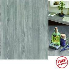 NEW DIY Kitchen Worktop Grey Wood Vinyl Cover Self Adhesive Sticky Back Wrap 45