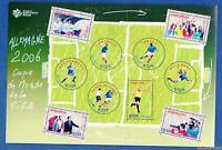 France Bloc N°97 Coupe du Monde de Football 2006 en Allemagne Neuf Luxe