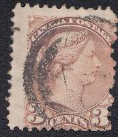 Canada Scott 37 used 3 cent