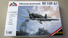 Messerschmitt Bf.109A1 (PE & resin parts, mask, film)   1/48 by AMG # 48711