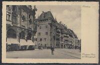 45056) AK Nürnberg Nassauer Haus mit Königstraße ca. 1935