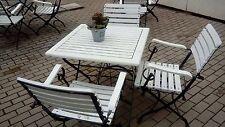 Komplet mebli ogrodowych 4 krzeselka i stol.