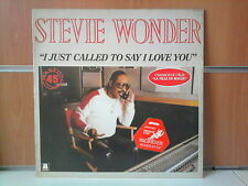 "STEVIE WONDER i just called to say i love you 12"" MAXI 45T"