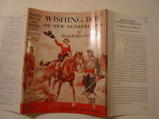 Wishing Boy of New Netherland, Maud Esther Dilliard, Dust Jacket Only