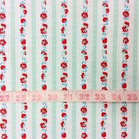 RPG465C Floral French Shabby Country Garden English Roses Cotton Quilt Fabric