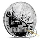 2018 Tuvalu Iron Man 1 oz .9999 Fine Silver Marvel Series $1 Coin - Gem BU