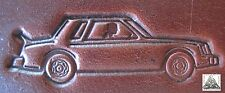 Race Car Muscle Car Drag Racing Embossing Plate Leather Stamp #1