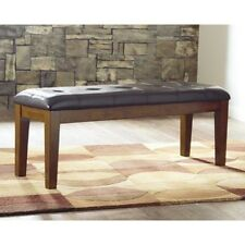 Signature Design by Ashley Ralene Large Uph Dining Room Bench Medium Brown