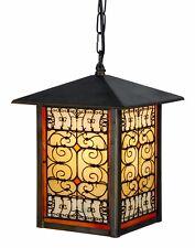 Tiffany Patio / Porch Ceiling Light