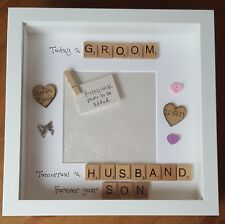 Mother & Father of the Groom Box Photo Frame Wedding Thank You Gift