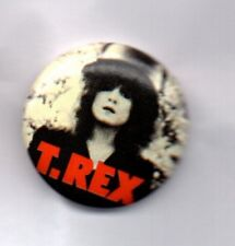 T REX / MARC BOLAN BUTTON BADGE English Glam Rock Band - 20th Century Boy 25mm