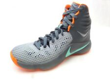 Nike Zoom Hyperfuse 2014 High Top Basketball Shoes Dark Grey Athletic Men's 7.5