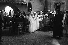 LA GAROUPE Antibes c. 1930 - 6 Négatifs Procession Alpes Maritimes Ph. Maniezzi