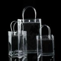 New Clear Tote Bag Transparent Purse Shoulder Handbag Stadium Approved S/M/L UK