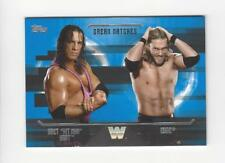 2017 Topps WWE Undisputed Dream Matches #D7 Edge Vs. Bret Hit Man Hart