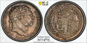 1820 Great Britain 6 Pence PCGS MS63 Silver Registry Coin KM 665 Sixpence