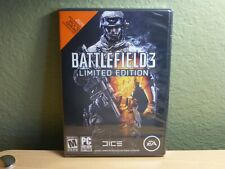 Battlefield 3: Limited Edition (PC, 2011) DVD-Rom EA Mature Brand New Sealed!