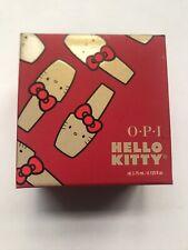 OPI Mini Hello Kitty Collection Holiday 2019 Nail Lacquer Set of 4 SIL-34654 NIB
