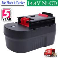 For Black & Decker 14.4V Slide Extended Battery Pack HPB14 FireStorm A14F FSB14