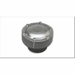 """Supertrapp 444-2503 4"""" Universal Disc Only Muffler - 2.5"""" Inlet NEW"""
