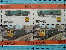 1967 BR Class 73 Broadlands Electric Train 50-Stamp Sheet (Leaders of the World)