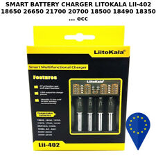 BATTERY CHARGER LIITOKALA Lii-402 x 18650 26650 21700 20700 18500 18490 18350..