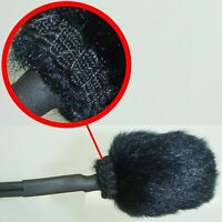 Furry Wind Shield For Outdoor External CCTV Microphone Dust Rain & Weather Proof