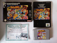 Super Smash Bros (Nintendo 64, N64) PAL Version - Boxed with Manual