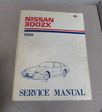 1989 Nissan 300ZX Service Repair Manual Model Z31 Series
