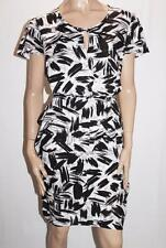 TARGET Brand Black White Tie Front Shift Dress Size 16-XL BNWT #SS116