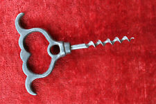 Vintage Steel 4-Finger Eyebrow Corkscrew