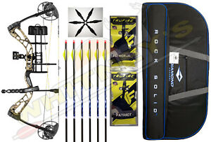 "Diamond  Bowtech Edge 320 Breakup Country RH Full RAK Package-5-70# 15-31"" Draw"