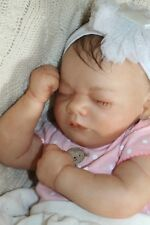 Reborn baby doll sweet lifelike newborn baby girl Jessica with 3d skin OOAK
